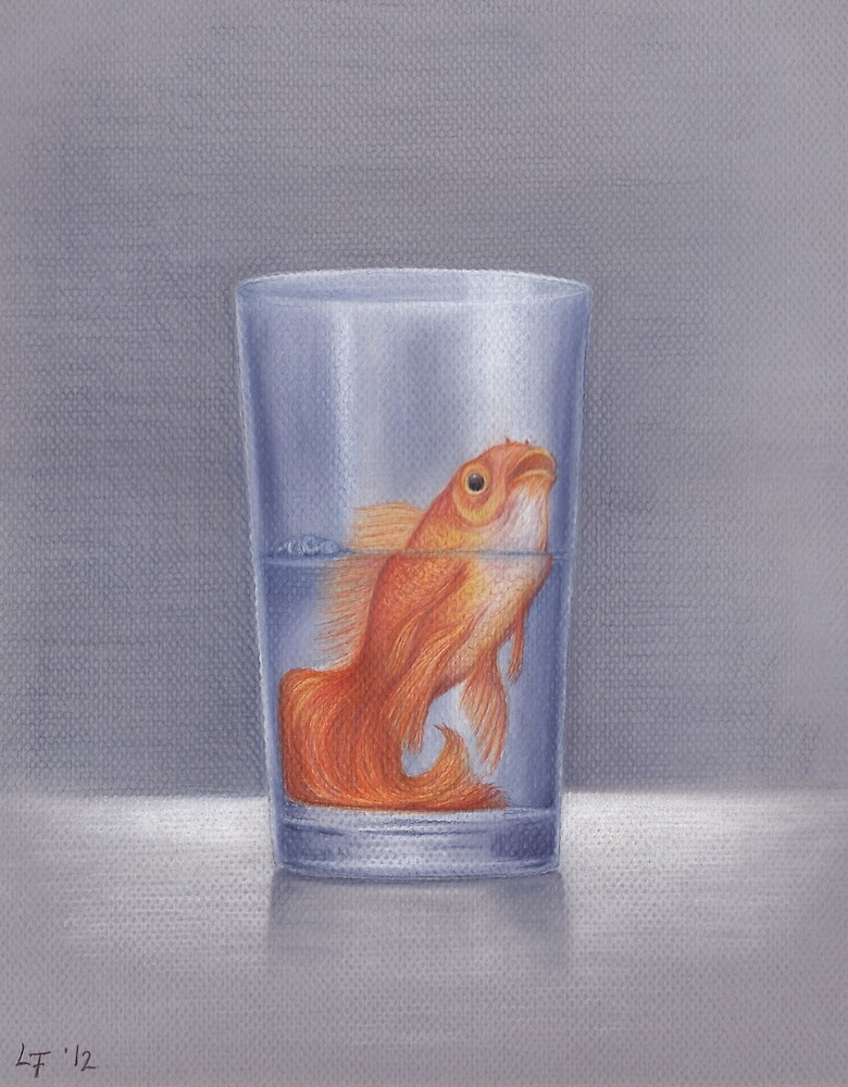 The Glass Is Half Full by Lars Furtwaengler