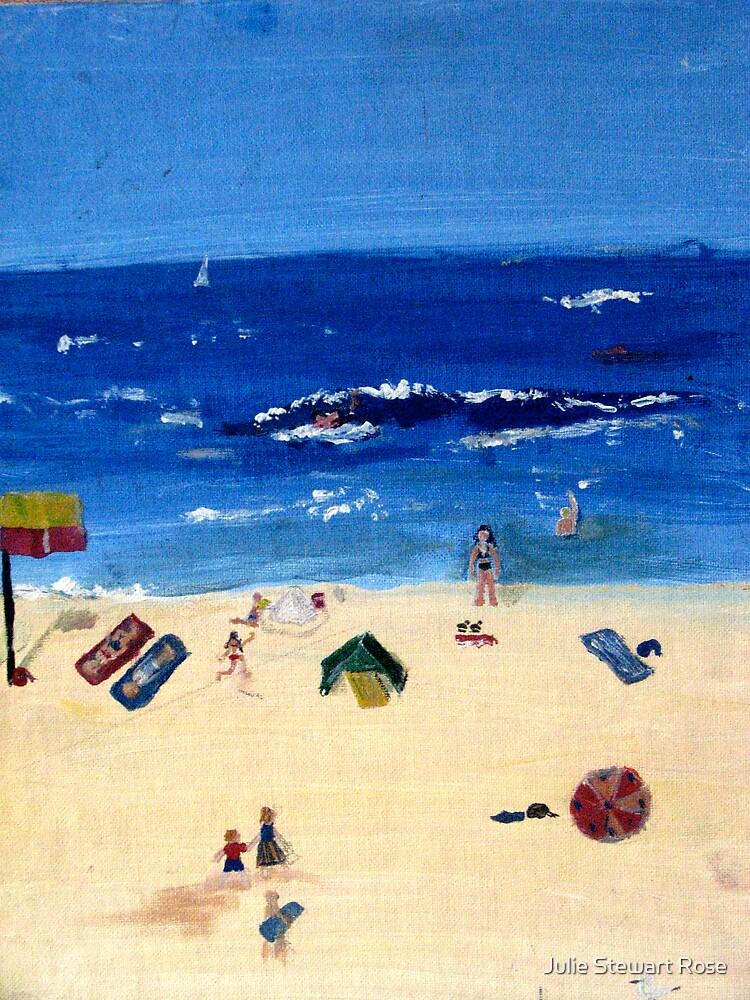 Coogee Beach by Julie Stewart Rose