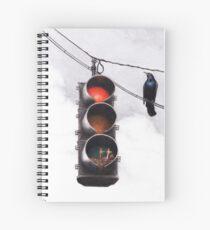 Code Red Spiral Notebook