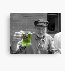 Green Beer SC Canvas Print