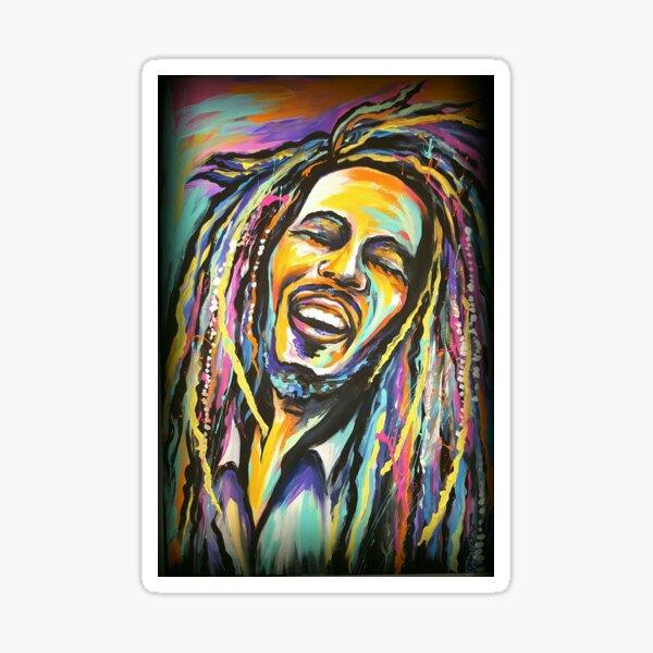 Rasta Reggae Man Sticker