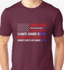 Love Is Love Black Lives Anti Trump  T-Shirt
