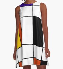 De Stijl 2 A-Line Dress