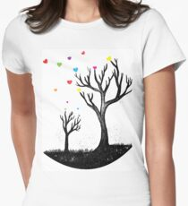Autumn Love Women's Fitted T-Shirt