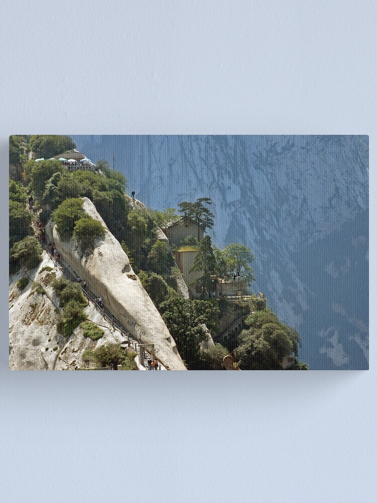 Alternate view of Mt Hua Canvas Print