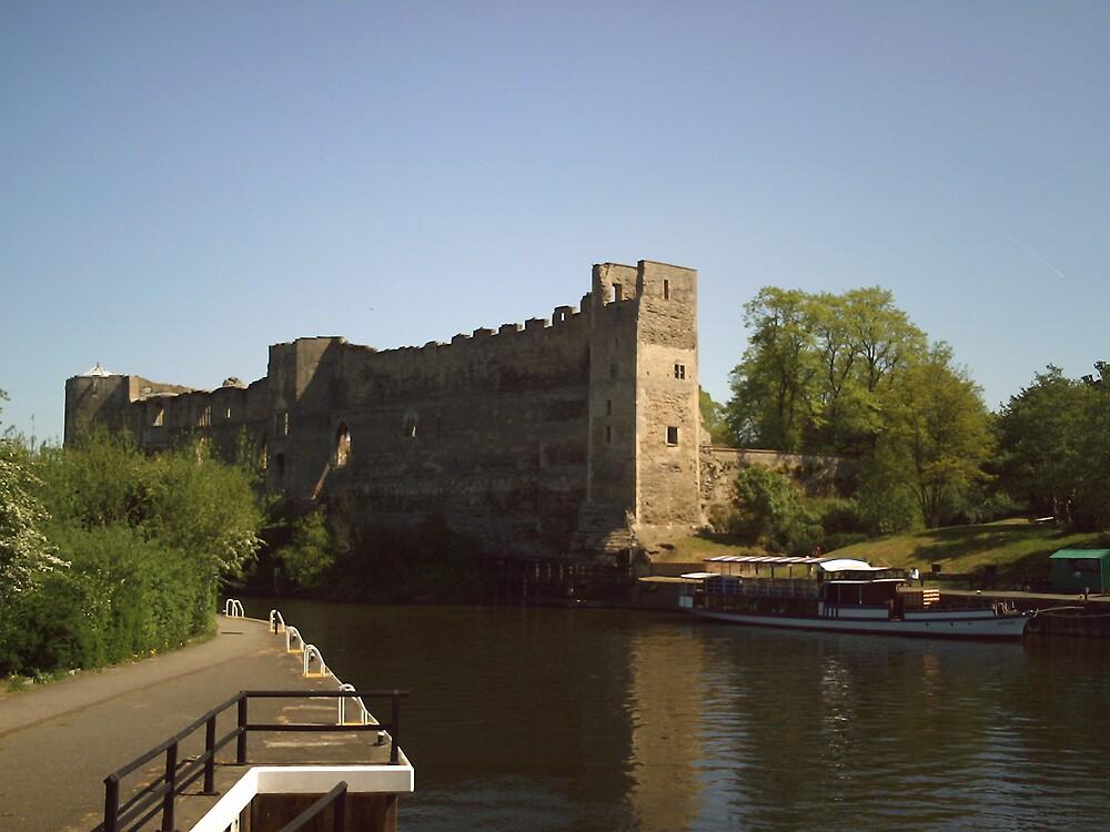 Newark Castle by George Maxwell