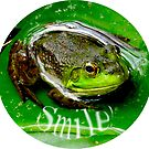 Smiling Frog by Beth Brightman