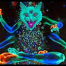 Psychedelic Kitty Cat  by Adamhass