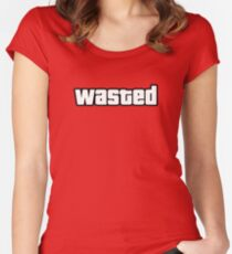 Wasted Women's Fitted Scoop T-Shirt