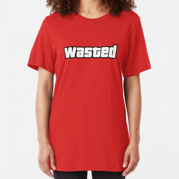 Wasted Slim Fit T-Shirt