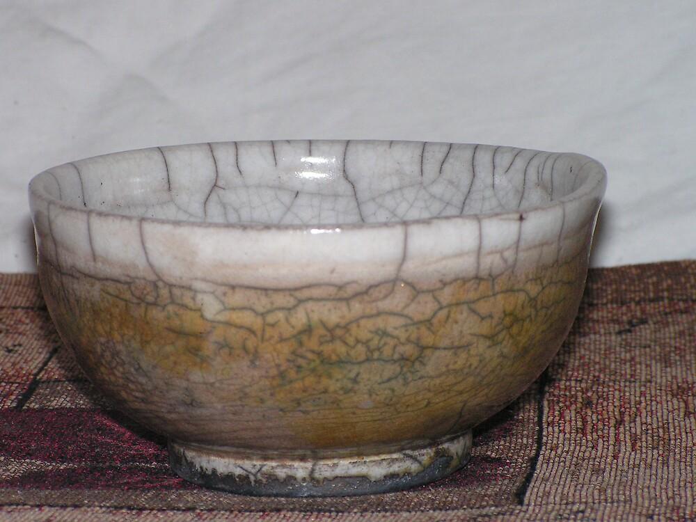 raku bowl by fatman