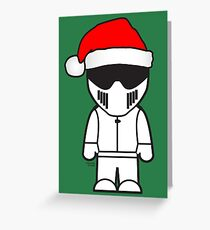 The Stig - Father Stigmas Greeting Card