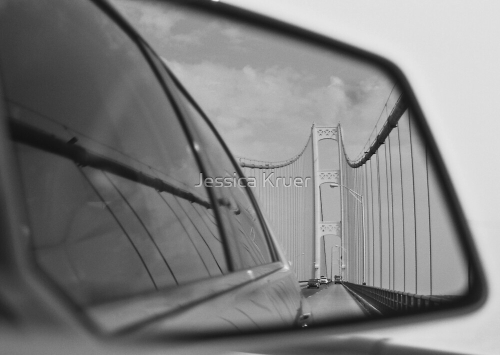 Mackinaw Bridge Reflected by Jessica Kruer