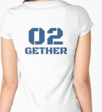 Couple Design 2Gether 4Ever Women's Fitted Scoop T-Shirt