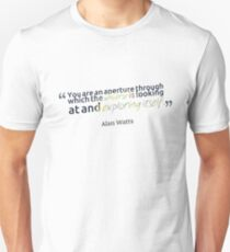 Alan Watts Quote #9 Unisex T-Shirt