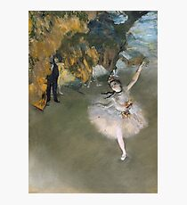 Edgar Degas - The Star, Or Dancer On The Stage Photographic Print