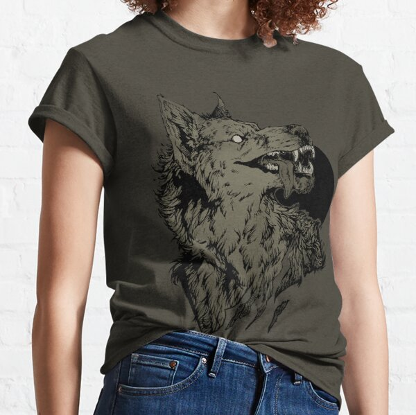 Werewolf - black Classic T-Shirt