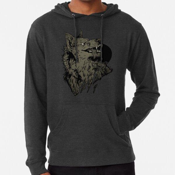 Werewolf - black Lightweight Hoodie