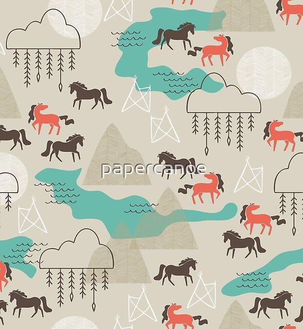 Wild Horses by papercanoe