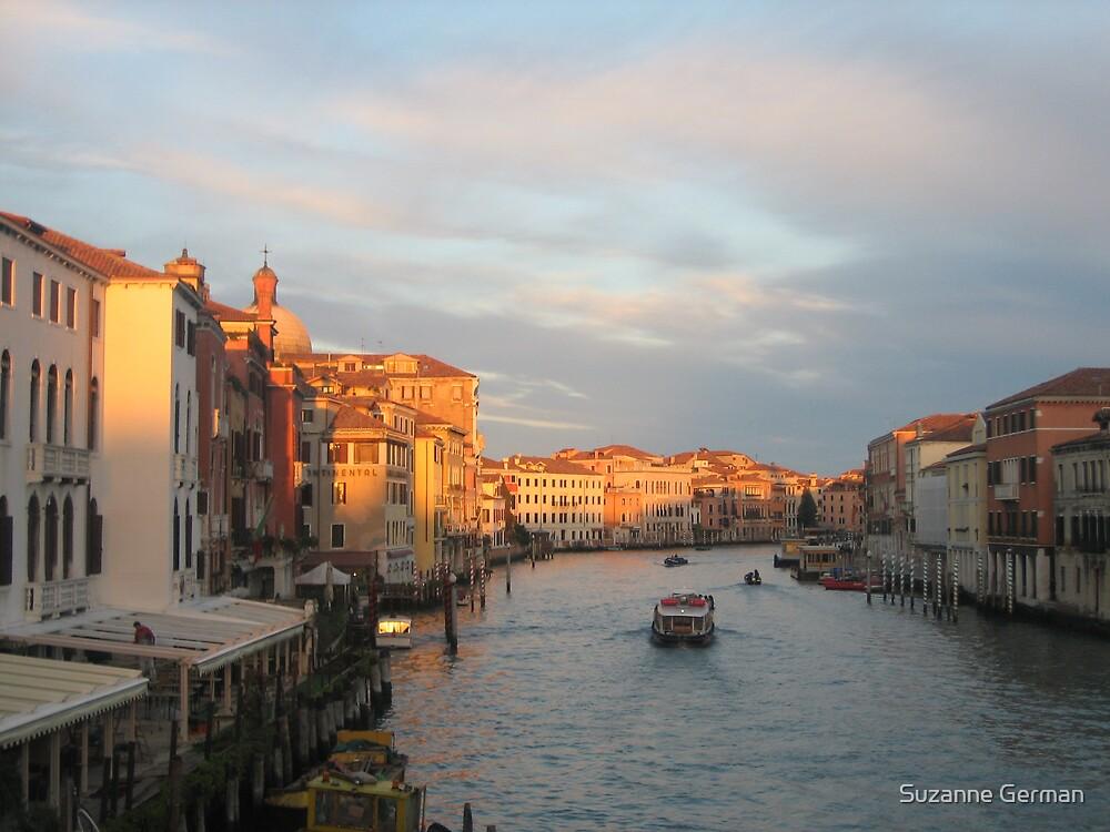 Sunset, Venice by Suzanne German