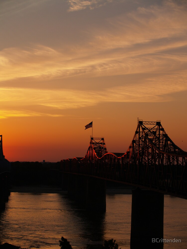usaphotocomp Mississippi bridge by BCrittenden
