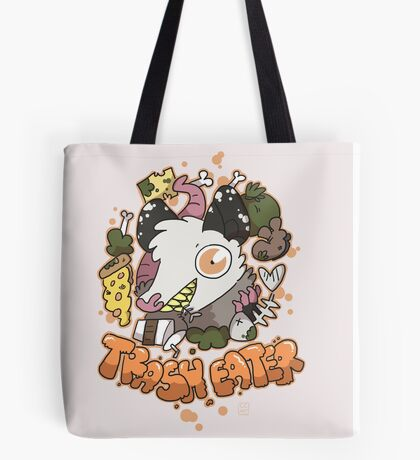 Trash Eater Tote Bag