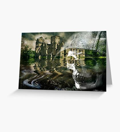 Home On The Water Greeting Card