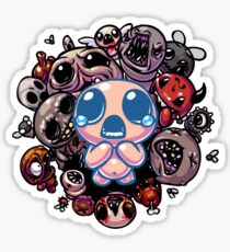 Binding of Isaac Spot Design Sticker