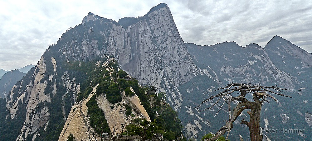 Mt Hua panorama by Peter Hammer