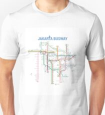 Jakarta Busway Unisex T-Shirt