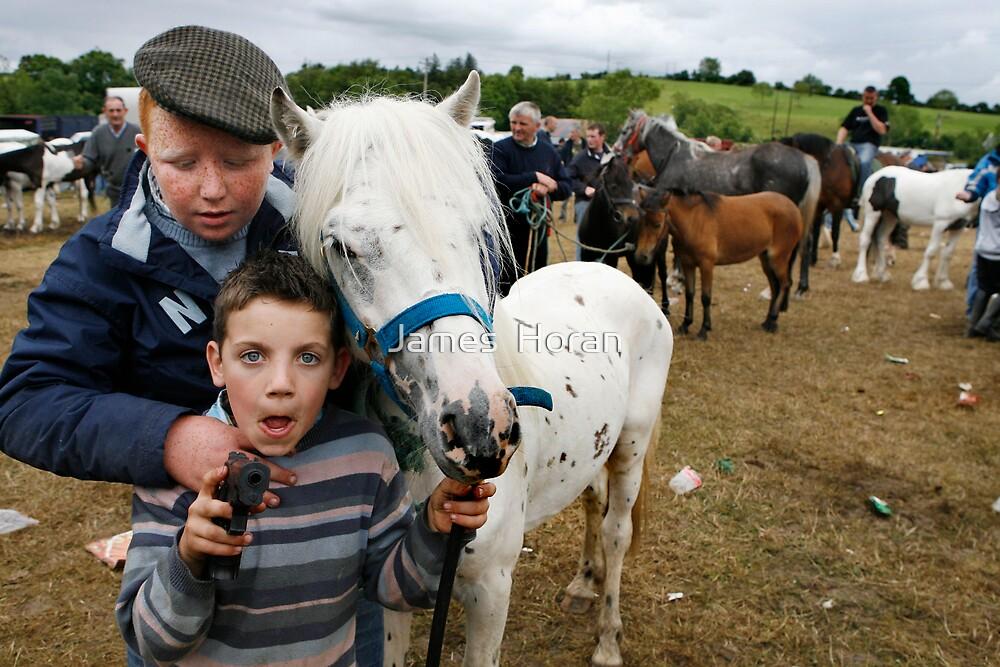 Spancilhill horse fair by James  Horan