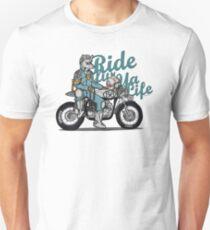 Ride fur ya life: Wolfman T-Shirt