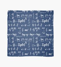 Mathematical Equations Pattern Scarf