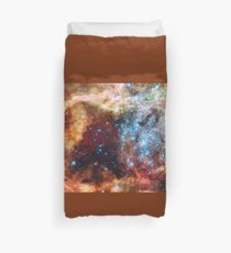 Doradus Nebula, Hubble Space Telescope Image Duvet Cover