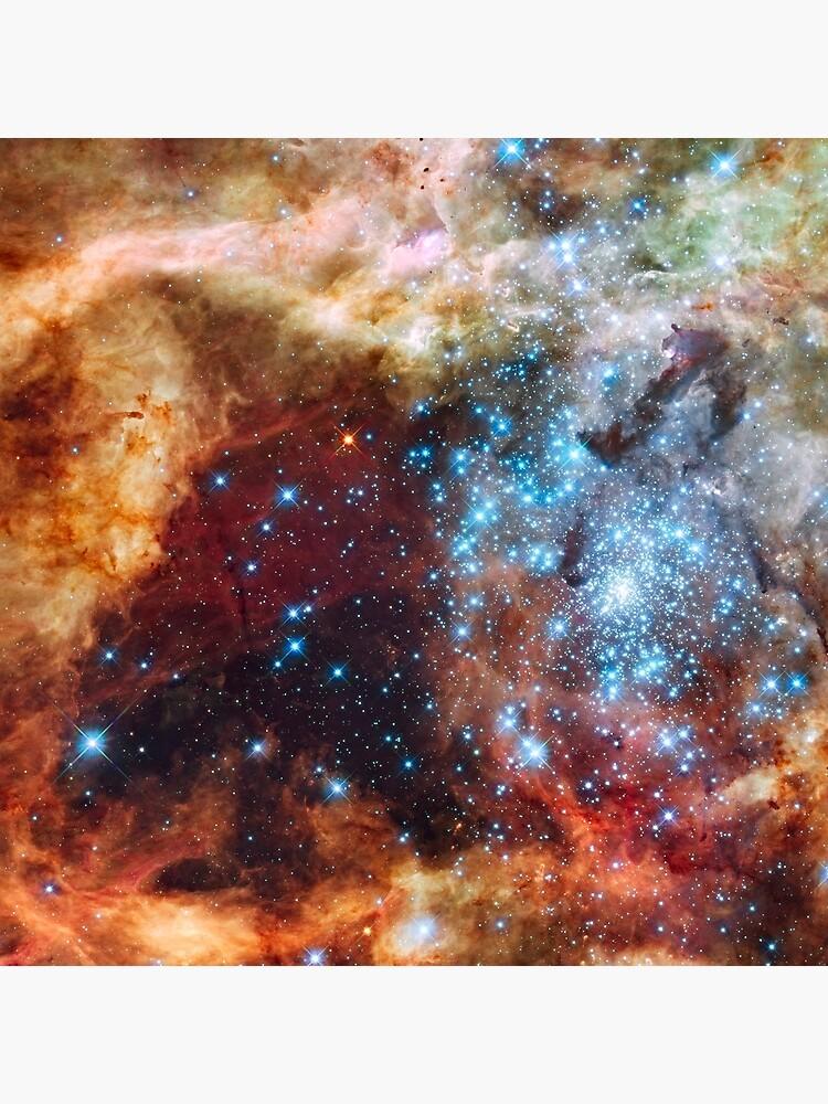 Doradus Nebula, Hubble Space Telescope Image by barrysart