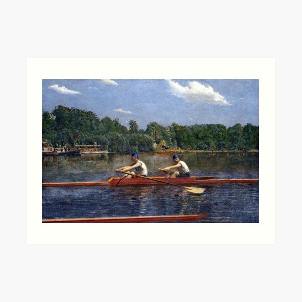 Thomas Eakins The Biglin Brothers Racing Art Print