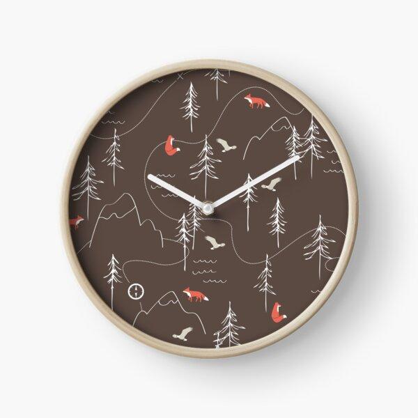 Fox Trails Clock