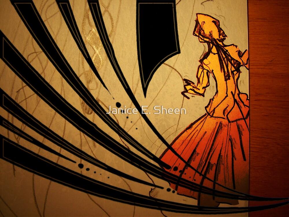 Dancing Girl by Janice E. Sheen
