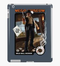 Mego Wild Bill Hicock Art iPad Case/Skin