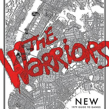 Warriors NYC Gang Map by TalesOfTheEast