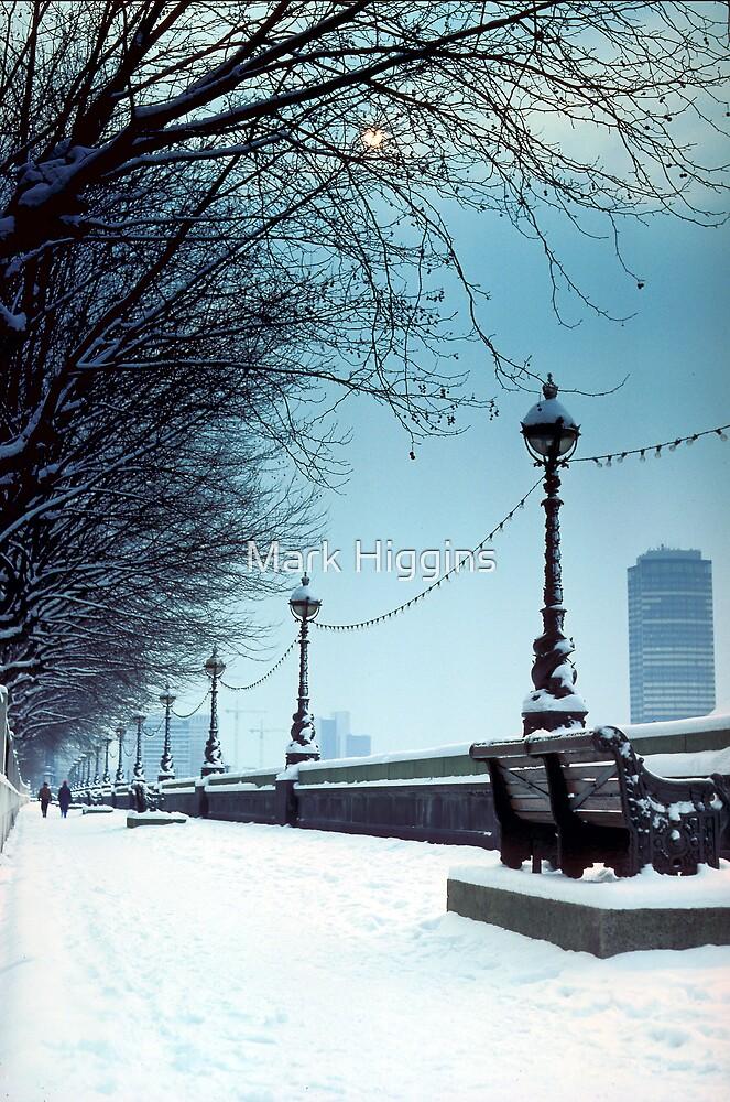 Thames Winter by Mark Higgins