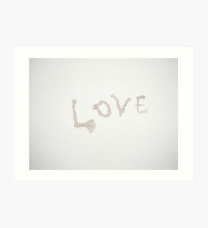 Paper Mache Love Art Print
