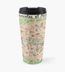 Paris 1918 Travel Mug