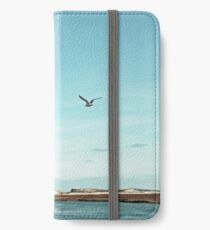 Minimalist Sea and Blue Sky iPhone Wallet/Case/Skin