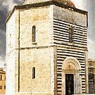 San Giovanni Baptistery, Volterra, Italy by savage1