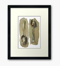 spoon Framed Print