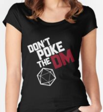 Don't Poke the DM Women's Fitted Scoop T-Shirt