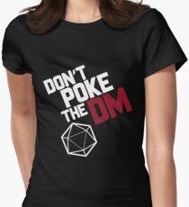 Camiseta entallada para mujer No empuje el DM