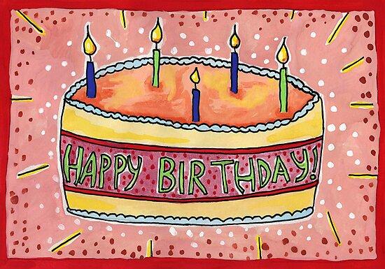 Happy Birthday by John Douglas