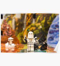 Lego Star Wars Scene Poster